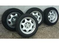 Mercedes slk clk 5x112 vw passat winter tyres