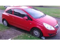 £1500 ono vauxhall corsa 3 door 07plate cheap insurance and fuel