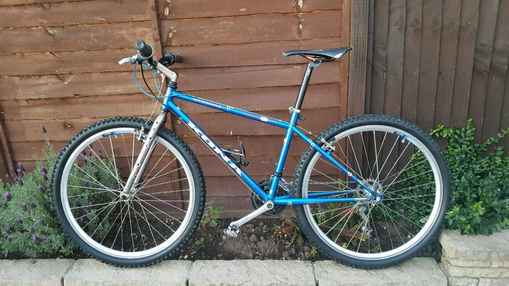 """Retro kona Hannah 1990sin Brislington, BristolGumtree - Retro kona Hannah 1990s. 16"""" frame size on 26"""" wheel size Classic steel frame. In good condition and in good working order. Collection only cash"""
