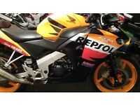 HONDA CBR 125R engine unit 2016 Hi( braking full bike)