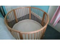 Baby Dan wooden playden excellent condition
