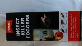 Rentokill insect foggers