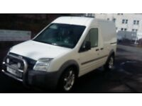 ford transit connect 1.8 tdci 55 plate lwb hi-top