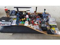 A large quantity of office sundries, staplers, hole punch, calculators, Markers, Pens, Glue, Tip-x..