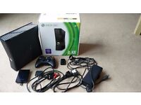 Xbox 360 with 250GB hard drive, controller and 12 games