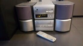 **** JVC Stereo system - CD, tape, tuner, sound system - not Sony, Samsung, lg