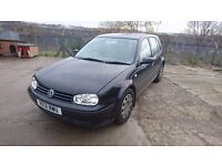 vw golf, family owned since new, just out of test hence £275 may part ex for any van