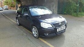 Volkswagen Polo match 60, 2009 year, low mileage sale