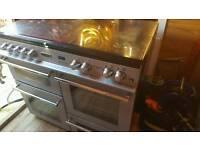 Duel range cooker