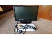 "LOGIK 19"" HD Ready Digital LCD TV with DVD Player"