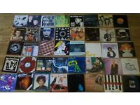 80 x 7 inch indie / mod / new wave / kate bush / roger waters / siouxsie / purple hearts