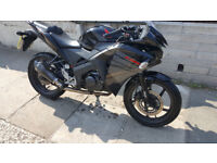 Honda 125Cbr 2016 great looking bike