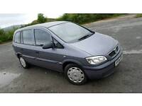 Vauxhall Zafira 1.6 2004 Superb Condition people carrier 7 seater 7 seats