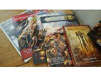 Large Selection of New and used Warhammer (AGE OF SIGMAR)