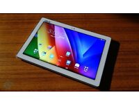 ASUS ZENPAD 10 Tablet,300c White and Silver,perfect condition,as new in box,see ad/pics