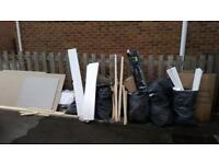 Cheaper than a skip! Rubbish junk waste domestic & commercial fully licensed