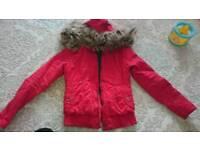 Red coat women size S