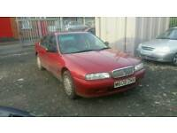 CLASSIC ROVER 600 PETROL AUTOMATIC , , 1 YEAR MOT , , EXCELLENT RUNNER , , CHEAP CAR