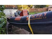 Osprey 5.2 rib boat