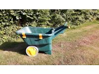 Zag Wheelbarrow- large capacity, ultra lightweight
