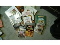Various cook books approx 17