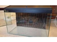 Fish tank, Clear Seal, 67 litres, 61x38x30cm, with all required equipment & accessories