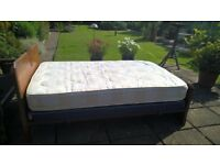 Mattress for a small double bed.