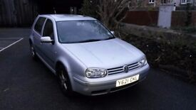 VW Golf 1.6 Petrol For Sale * SPARES OR REPAIRS *
