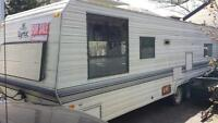 40' travel trailer home