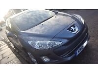 Peugeot 308, 2010, 57k miles only in very good condition