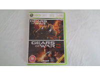 XBOX 360 Game Gears of War 1 & 2