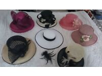 Lovely Collection of Hats for Special Occasions Wedding Baptism The Races £25-45)