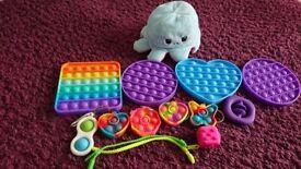 Assortment of Fidget toys