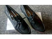 Black flat Shoes size 5 £7 brand new in box