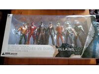 DC Comics the New 52 Super Heroes VS Super-Villains Figures