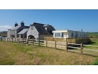 Holiday Caravan for rent in Moelfre, Isle of Anglesey. Stunning, tranquil location