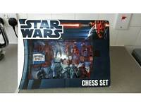 Star wars antique style chess set
