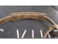 LOUIS VITTON MONAGRAM STRAP WITH AUTHENTIC LV BRASS CLIPS, PERFECT TO CONVERT YOUR SPEEDY