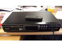 Super sounding Philips CD 723 player, ex cond with remote, great for modding reads CDRW