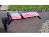 Decline / Flat / Incline York Fitness Weights Bench