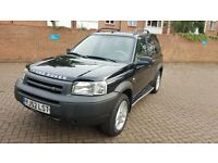 LEFT HAND DRIVE AUTOMATIC FREELANDER IN LONDON