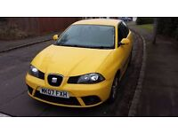 """Seat IBIZA 1.2 Yellow Edition 2007 07 spares or repairs """"£250"""""""