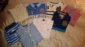 Gant, Joules & Lazy Jacks Clothes