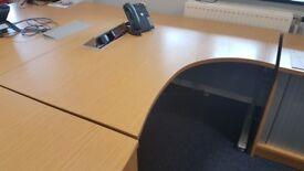 Birch Desks: Corner/ Curved/ Rectangular