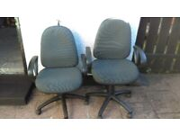 Operator swivel office chairs