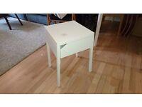 IKEA Selje bedside table with wireless charging
