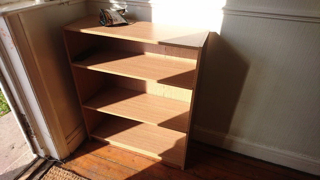 Ikea Billy bookcase - short height - oak finish