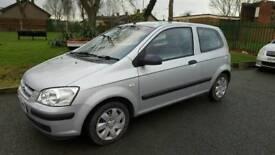 Hyundai getz 2005 1.1 petrol long mot full service history 88000 miles