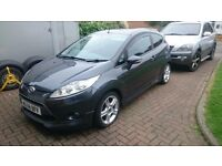Ford Fiesta Zetec S 1.6 Diesel *Mint condition* Parking sensors Bluetooth AUX 3 Door Cheep tax £20