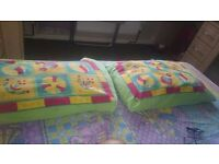 2 king size Pillows with Cover and 1 double size Blanket